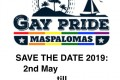 Gaypride Maspalomas 2019<br>Playa del Ingles, Spanien