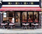 Balans Café<br>London, Grossbritannien