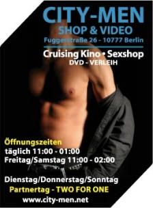 City Men Shop + Video<br>Berlin, Germany