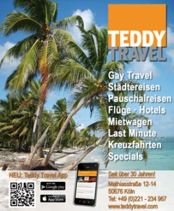 TEDDY TRAVEL<br>Cologne, Germany
