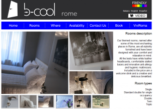 b-cool B&B Boutique Hotel<br>Rome, Italy