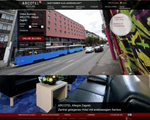 Arcotel Allegra Zagreb****<br>Zagreb, Croatia