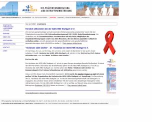 AIDS-Hilfe Stuttgart e.V.<br>Stuttgart, Germany