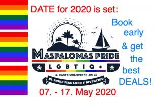 Gaypride Maspalomas 2020<br>Playa del Ingles, Spain