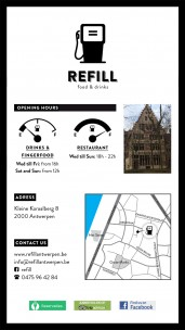 Refill Food & Drinks<br>Antwerpen, Belgium