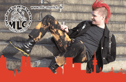 Skin, Rubberskin, Punks & Prolls<br>Munich, Germany