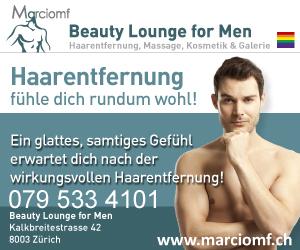 Beauty Lounge for Men<br>Zurich, Switzerland