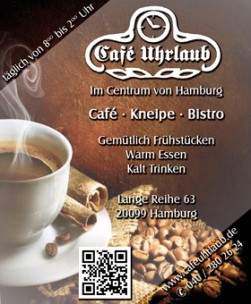 Café Uhrlaub<br>Hamburg, Germany