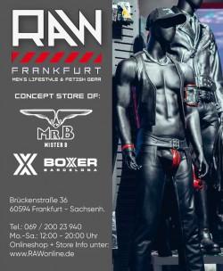 RAW Men's Lifestyle & Fetish Store<br>Frankfurt, Germany