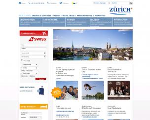 Tourist Service<br>Zurich, Switzerland