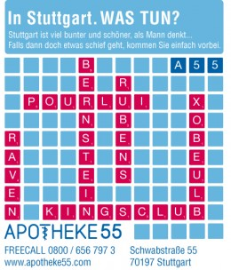 Apotheke 55<br>Stuttgart, Germany