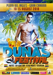 Dunas Festival 2018<br>Playa del Ingles, Spain
