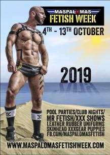 Maspalomas FetishWeek 2019<br>Playa del Ingles, Spain