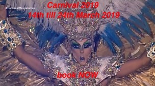 Carnival Maspalomas 2019<br>Playa del Ingles, Spain