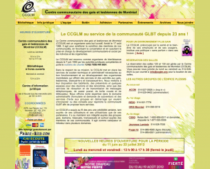 CCGLM<br>Montréal, Canada