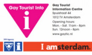 GAY Tourist Information Centre Amsterdam<br>Amsterdam, The Netherlands