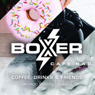 BOXER Bar-Café<br>Barcelona, Spanien