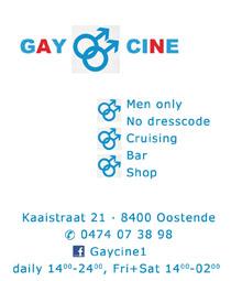 Gay Cine<br>Oostende, Belgium