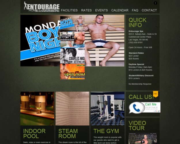 Entourage vegas spa & health club