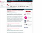 Aids-Hilfe Schweiz<br>Zurich, Schweiz