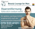 Beauty Lounge for Men<br>Zurich, Schweiz