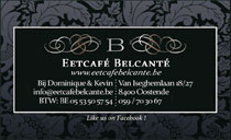 Eetcafé Belcanté<br>Oostende, Belgium