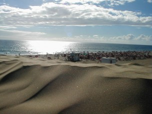Gay Beach Gran Canaria<br>Playa del Ingles, Spain