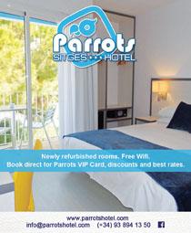 Parrots Sitges Hotel<br>Sitges, Spain
