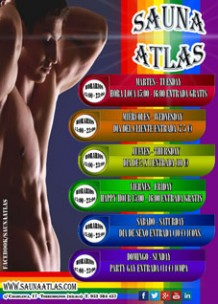Sauna Atlas<br>Torremolinos, Spain