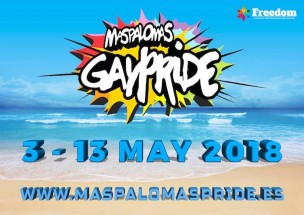 Gaypride Maspalomas 2018<br>Playa del Ingles, Spain
