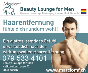 Beauty Lounge for Men<br>Zurich, Switzerland