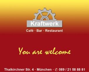 Kraftwerk Gastronomie KG<br>Munich, Germany