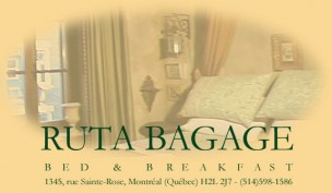 B&B Ruta Bagage<br>Montréal, Canada