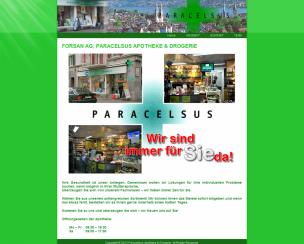 Paracelsus Apotheke & Drogerie (Forsan AG)<br>Zurich, Switzerland