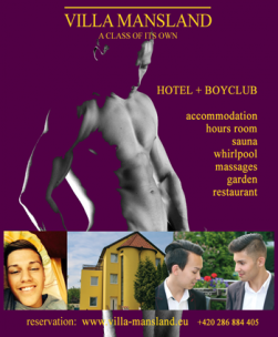 Gay Hotel Villa Mansland<br>Prague, Czech Republic
