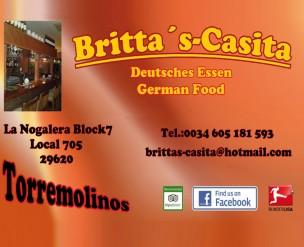 Britta's Restaurante<br>Torremolinos, Spain