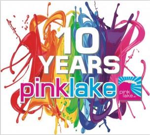 Pink Lake am Wörthersee<br>Austria