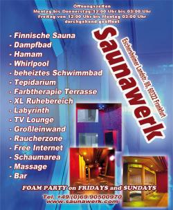 Saunawerk<br>Frankfurt, Germany